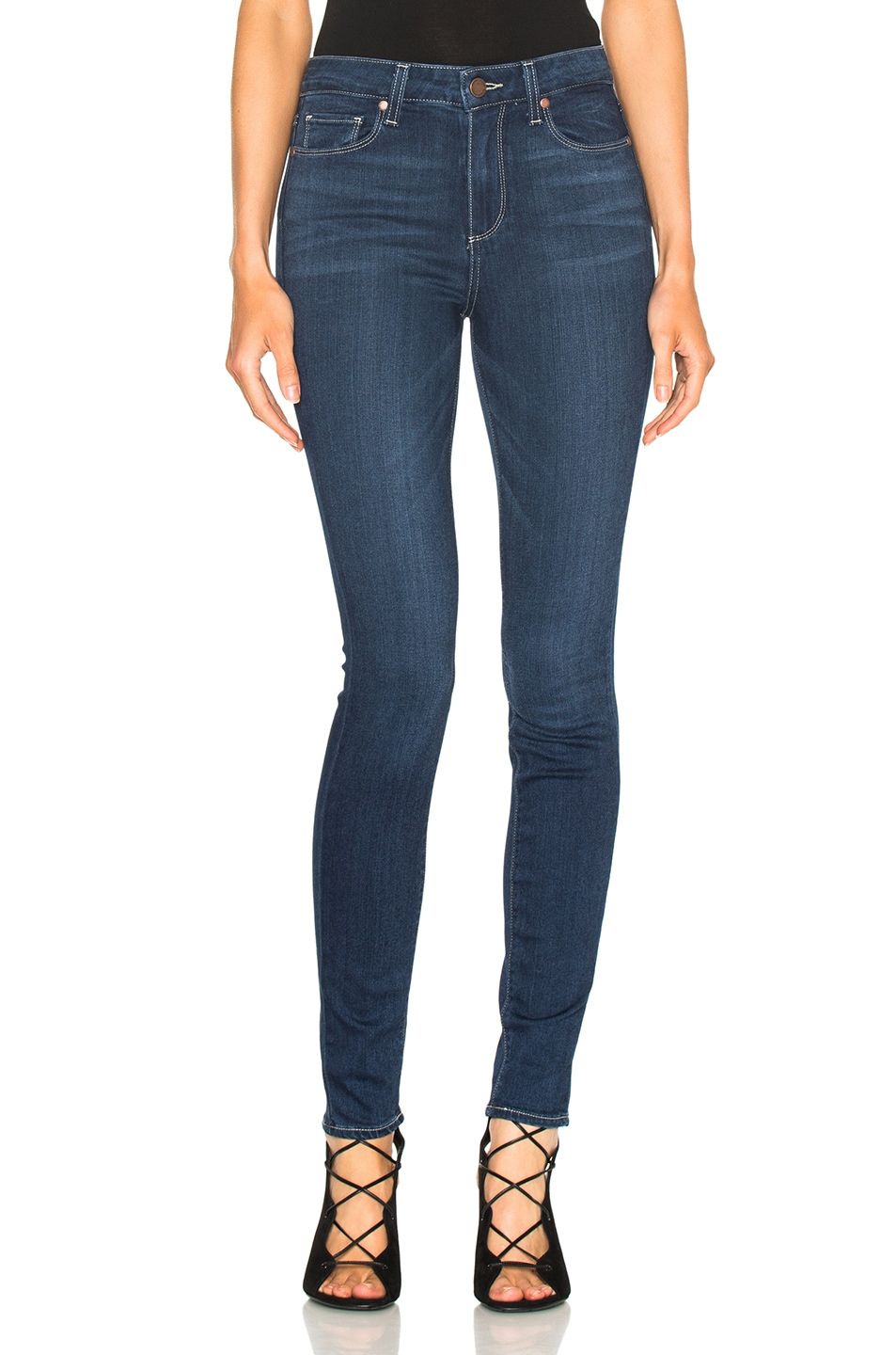 Image 1 of PAIGE Hoxton Ultra Skinny in Dalia