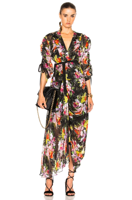 Image 1 of Preen by Thornton Bregazzi Cora Dress in Tin Flower
