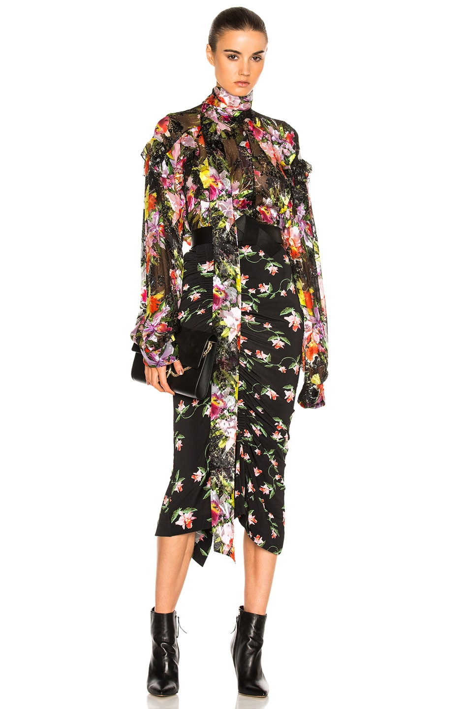 Image 1 of Preen by Thornton Bregazzi Cora Top in Tin Flower