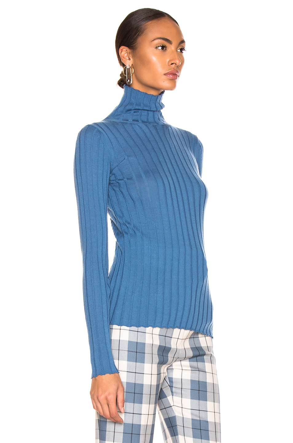 Image 2 of Petar Petrov Karen Sweater in Blue