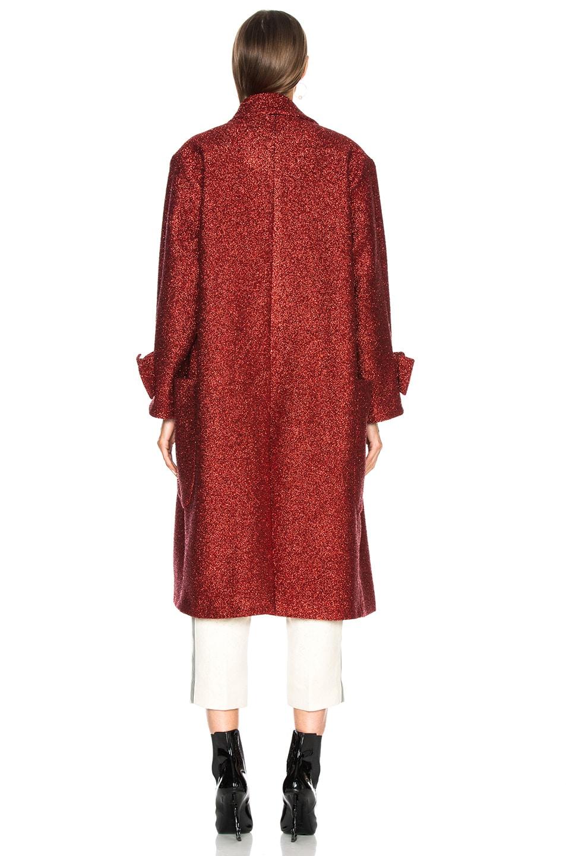 Image 4 of Petar Petrov Aidan Coat in Red