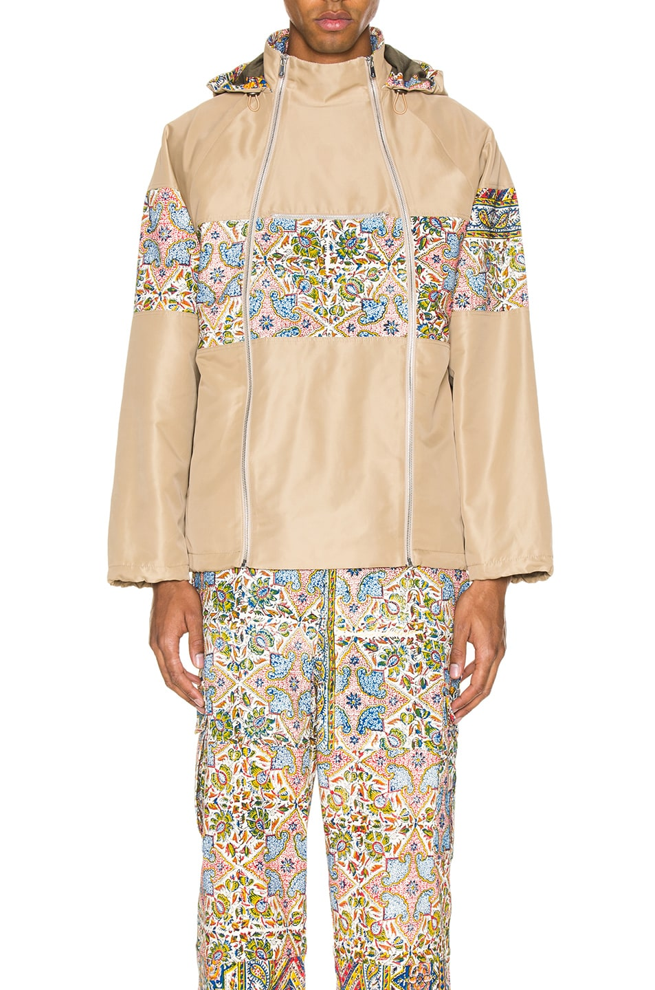 Image 1 of Paria Farzaneh Raglan Jacket in Beige