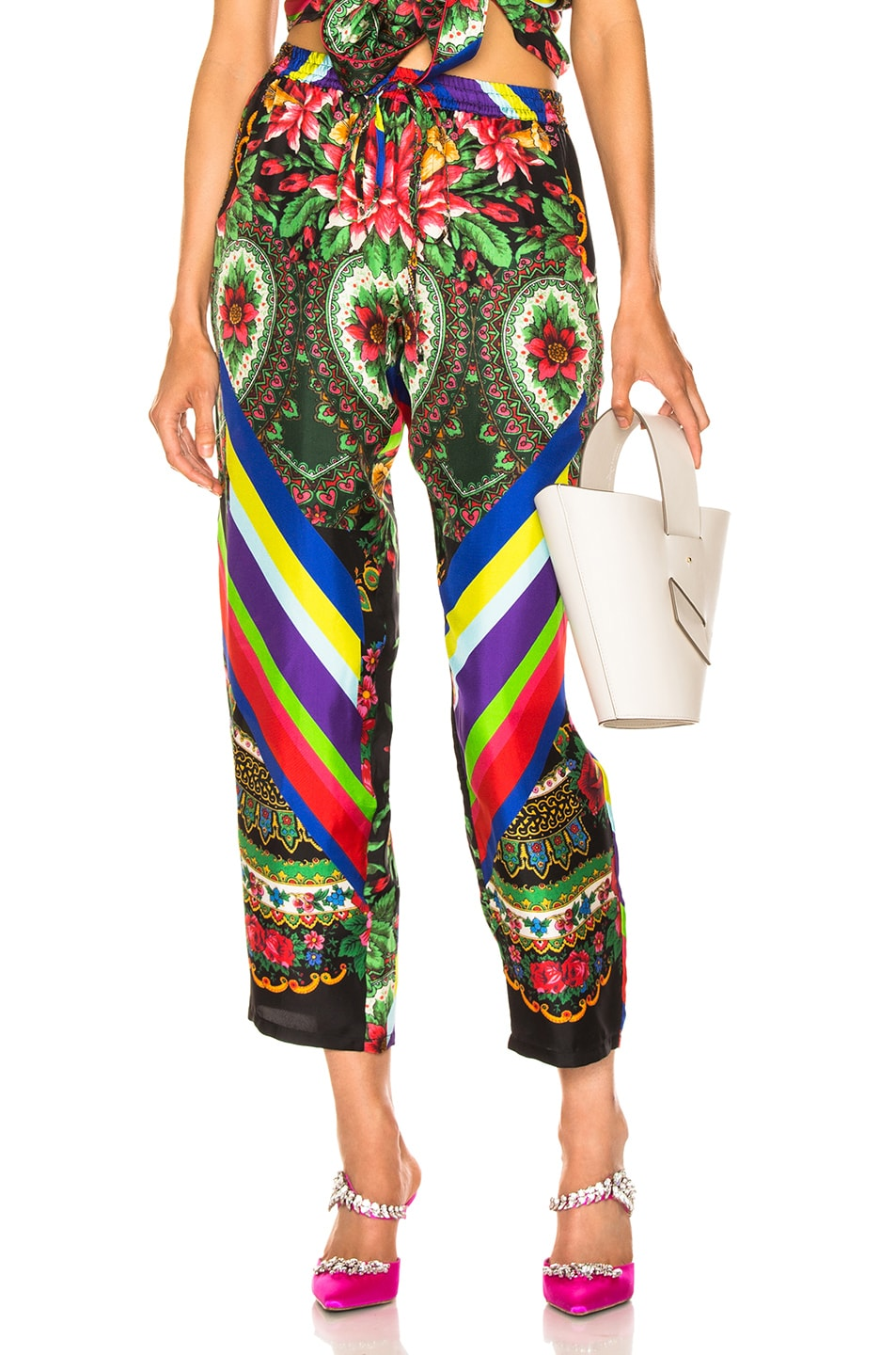 Image 1 of Pierre-Louis Mascia Aloe Ultrawash Pant in Multi
