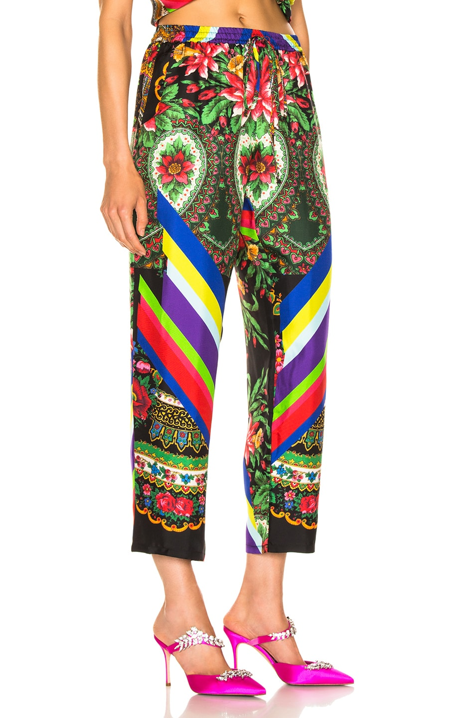 Image 2 of Pierre-Louis Mascia Aloe Ultrawash Pant in Multi
