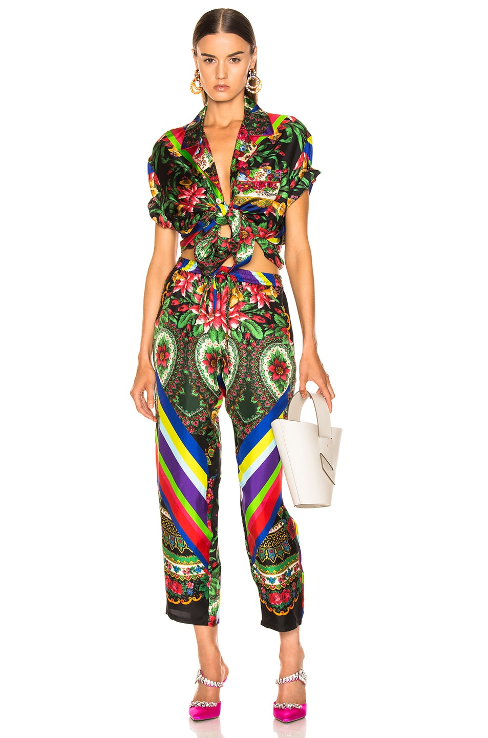 Image 4 of Pierre-Louis Mascia Aloe Ultrawash Pant in Multi