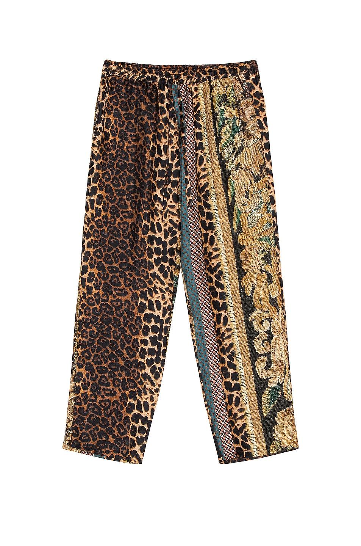 Image 1 of Pierre-Louis Mascia Aloe Pants in Multi