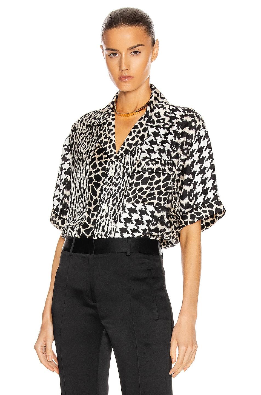 Image 1 of Pierre-Louis Mascia Short Sleeve Shirt in Multi
