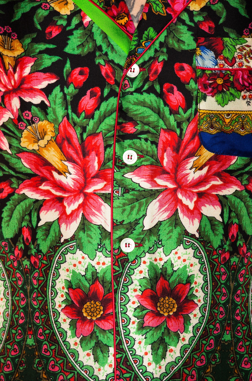 Image 5 of Pierre-Louis Mascia Aloe Ultrawash Shirt in Multi
