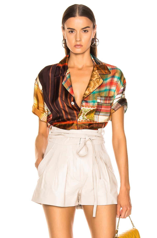 Image 1 of Pierre-Louis Mascia Aloe Ultrawash Shirt in Multi