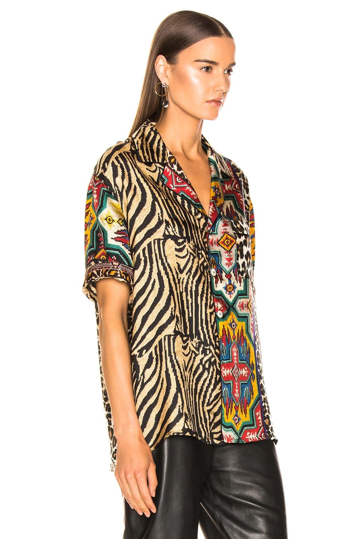 Image 2 of Pierre-Louis Mascia Aloe Ultrawash Shirt in Multi