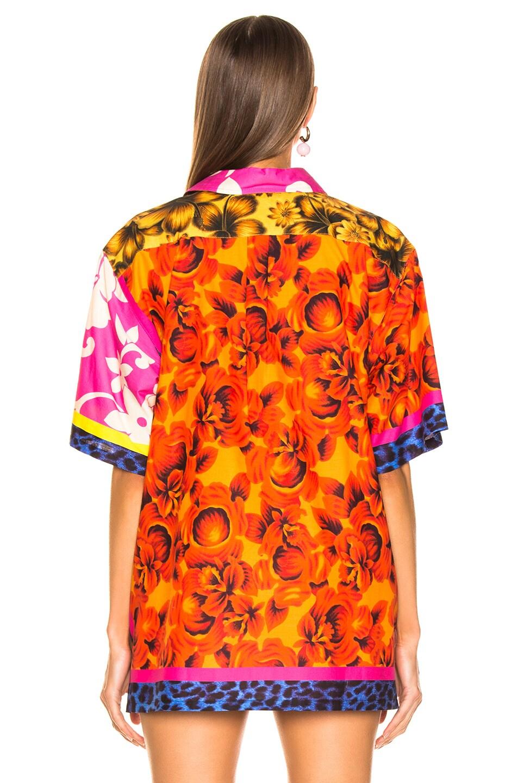 Image 3 of Pierre-Louis Mascia Razzoli Wash Shirt in Multi