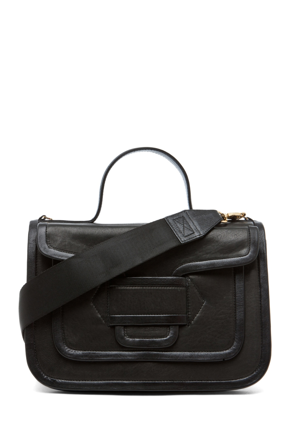 Image 1 of Pierre Hardy Large Satchel in Black