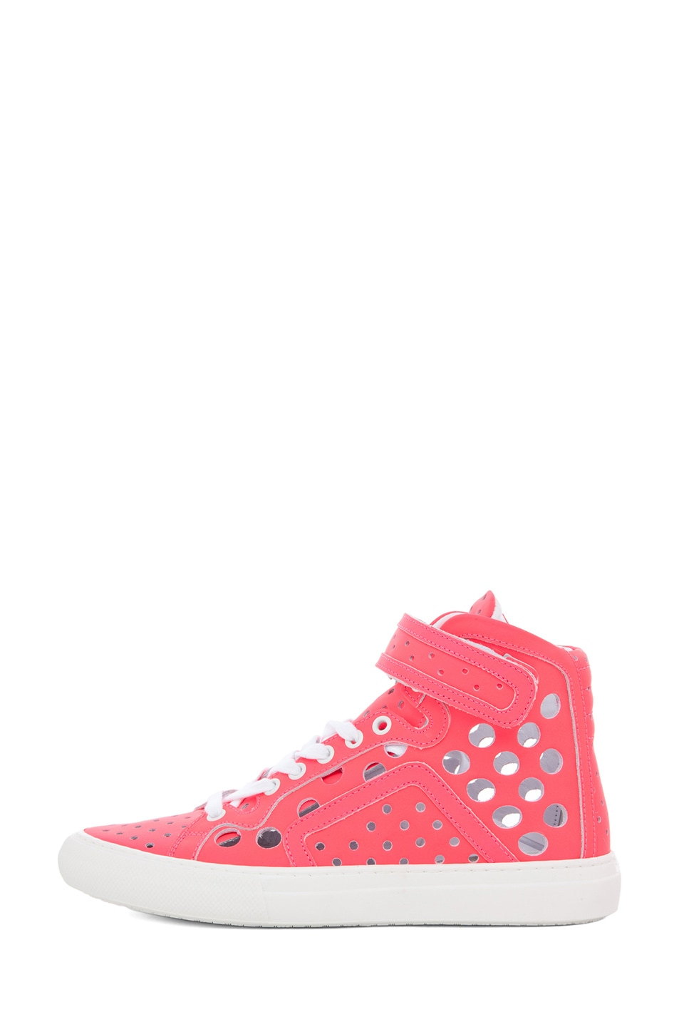Image 1 of Pierre Hardy Sneaker in Neon Pink