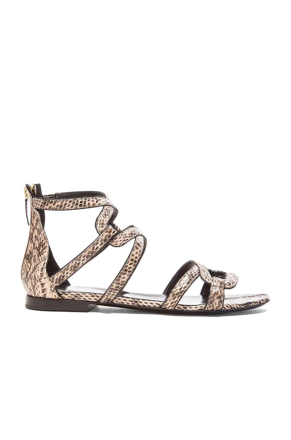 Image 1 of Pierre Hardy Kaliste Sandal in Black & Nude
