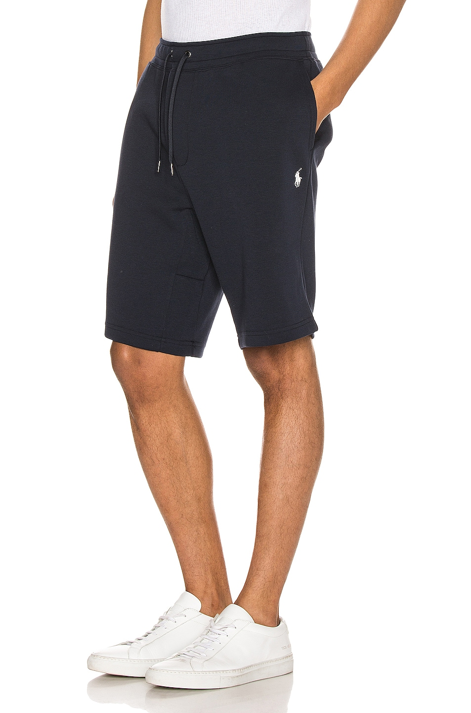 Image 1 of Polo Ralph Lauren Double Knit Tech Shorts in Aviator Navy