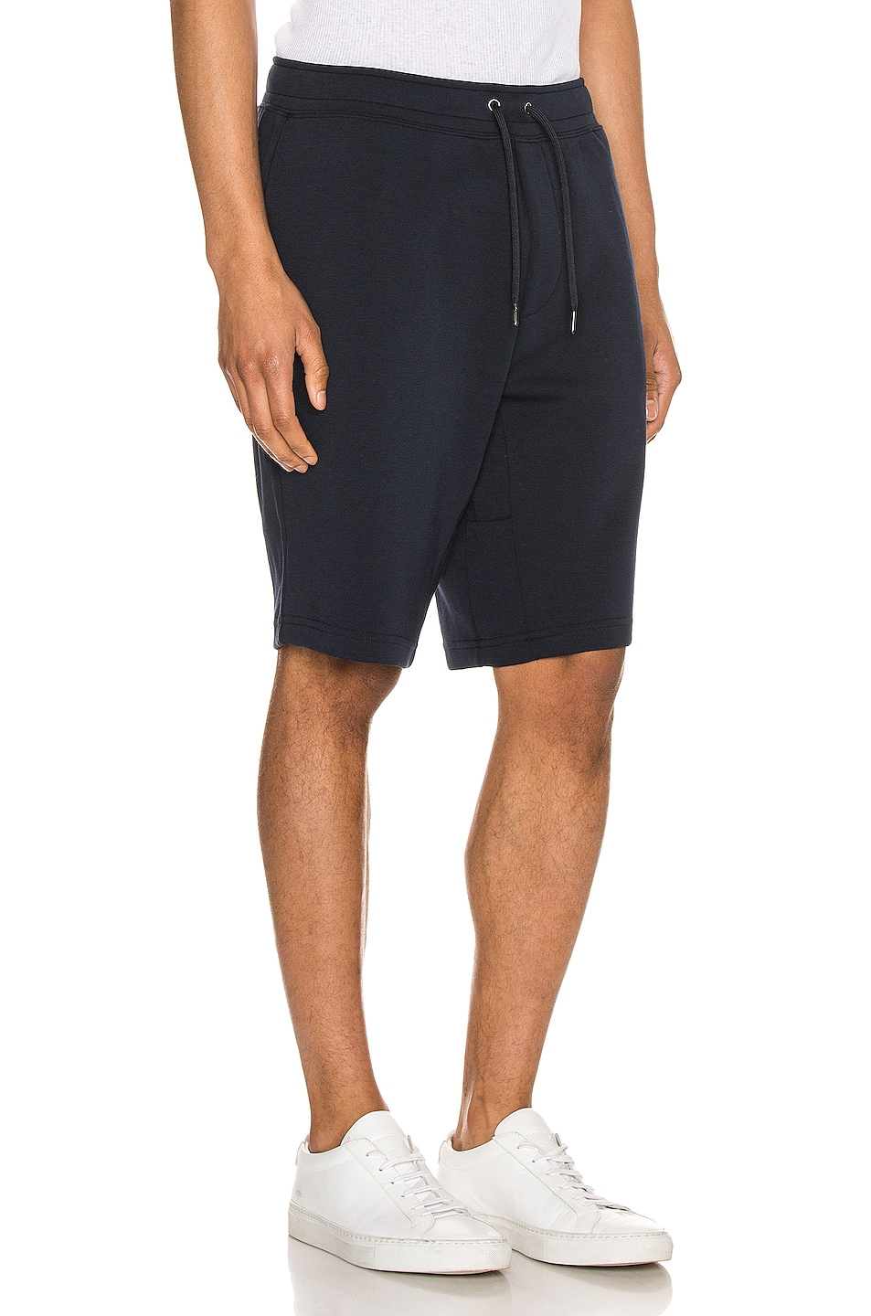 Image 3 of Polo Ralph Lauren Double Knit Tech Shorts in Aviator Navy