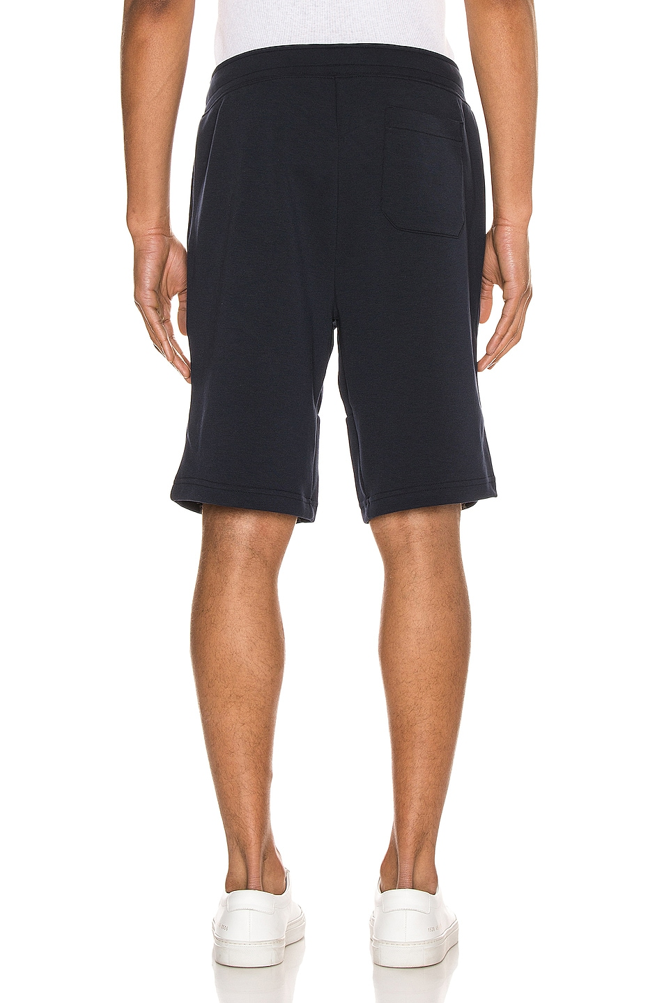 Image 4 of Polo Ralph Lauren Double Knit Tech Shorts in Aviator Navy