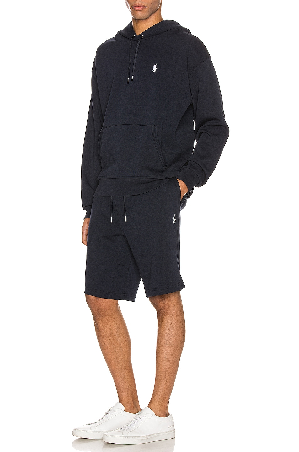 Image 5 of Polo Ralph Lauren Double Knit Tech Shorts in Aviator Navy