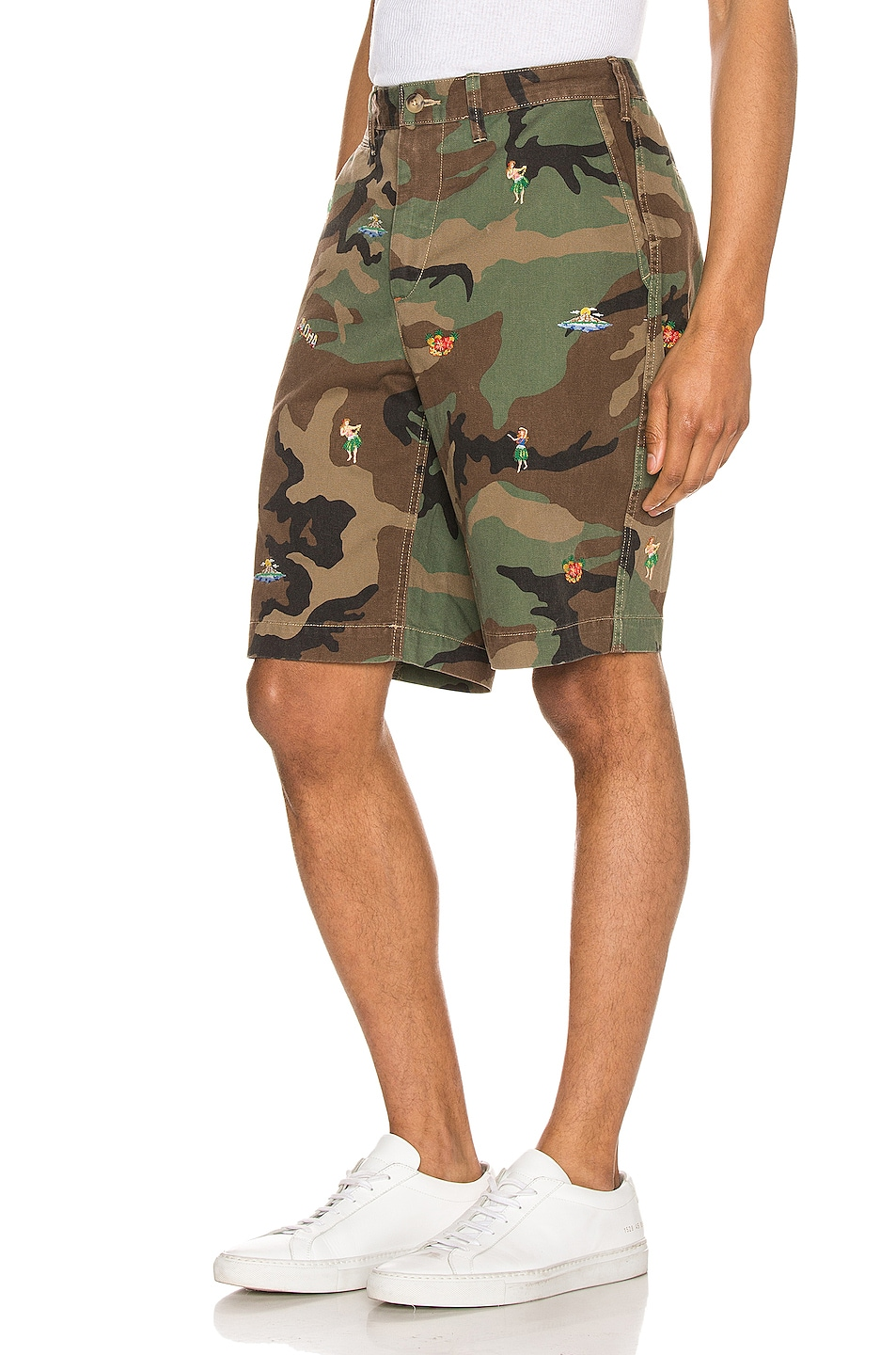 Image 3 of Polo Ralph Lauren Rugged Chino Shorts in Surplus Camo With Hula