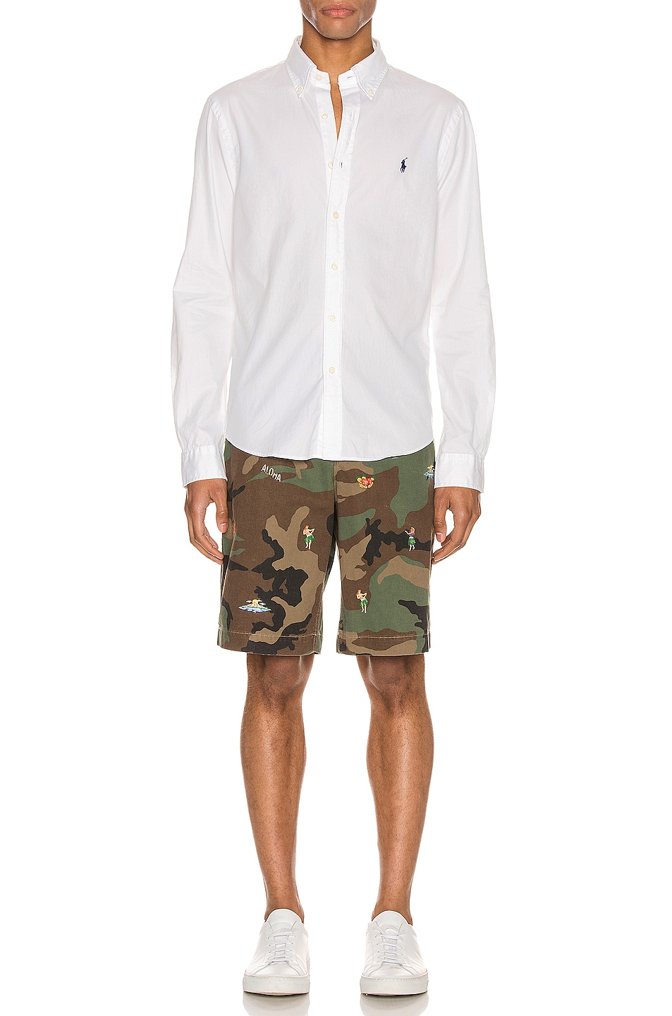 Image 5 of Polo Ralph Lauren Rugged Chino Shorts in Surplus Camo With Hula