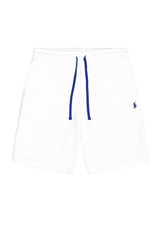 Image 1 of Polo Ralph Lauren Fleece Short in White