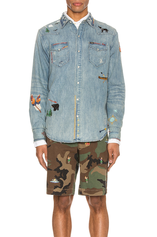 Image 2 of Polo Ralph Lauren Denim Jacket in Ansel