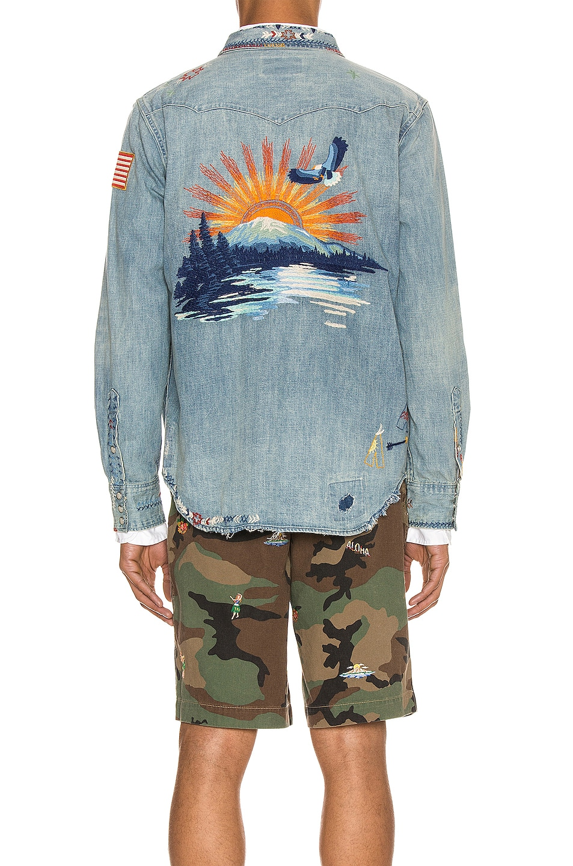 Image 5 of Polo Ralph Lauren Denim Jacket in Ansel