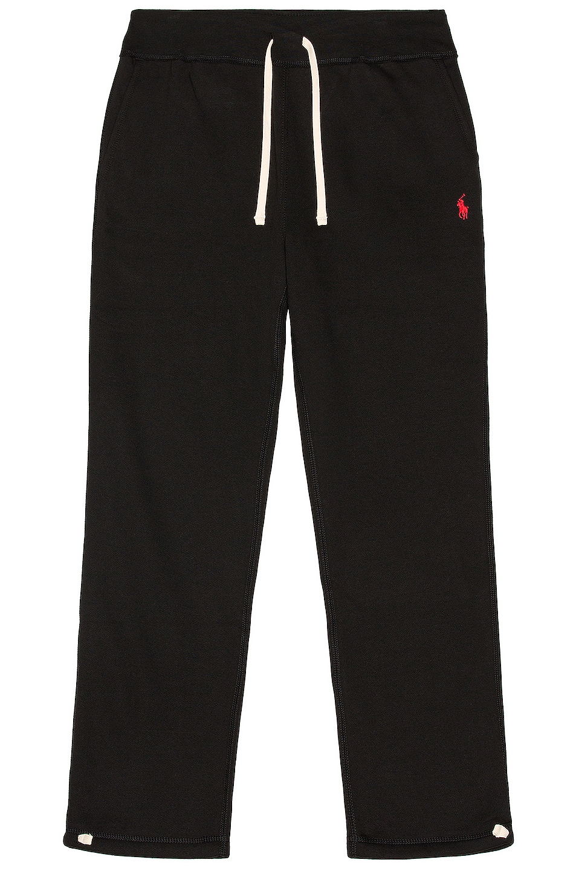 Image 1 of Polo Ralph Lauren Fleece Pant in Polo Black