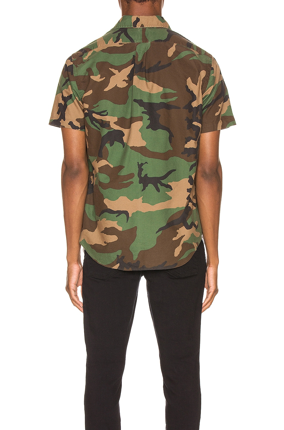 Image 4 of Polo Ralph Lauren Printed Oxford Shirt in Camo Print