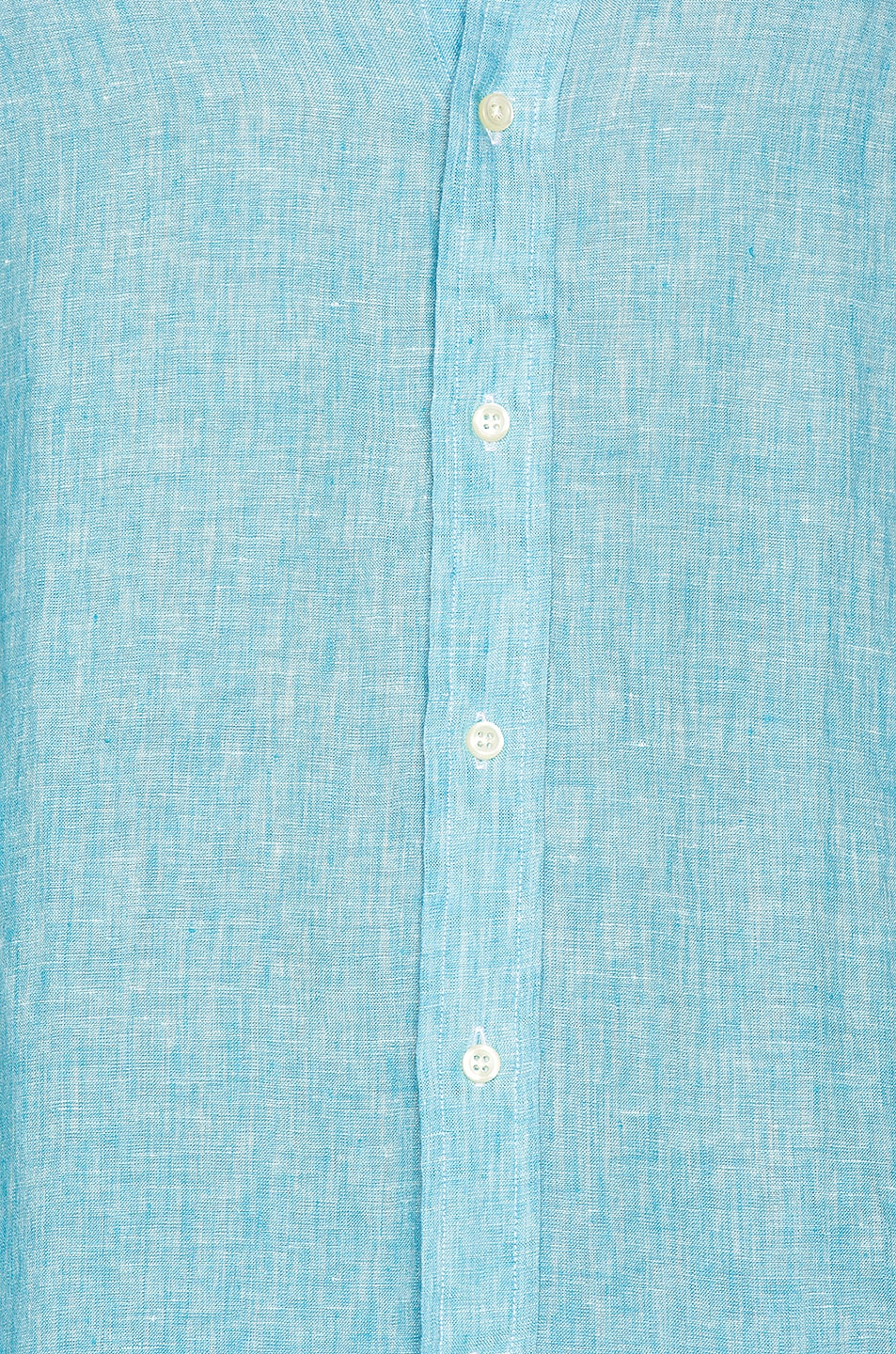 Image 5 of Polo Ralph Lauren Linen Chambray Long Sleeve Button Up Shirt in 4366F Turquoise