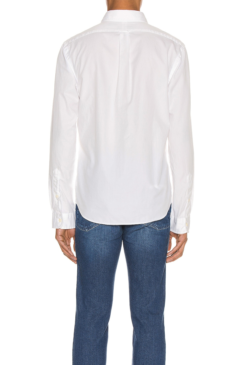 Image 3 of Polo Ralph Lauren GD Chino Long Sleeve Button Up Shirt in White