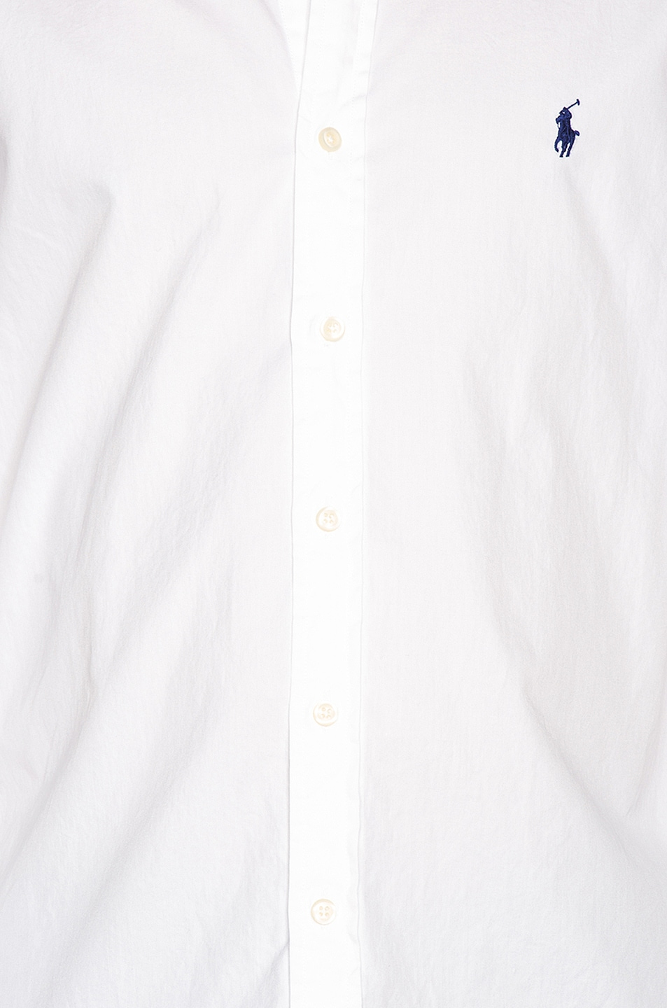 Image 5 of Polo Ralph Lauren GD Chino Long Sleeve Button Up Shirt in White