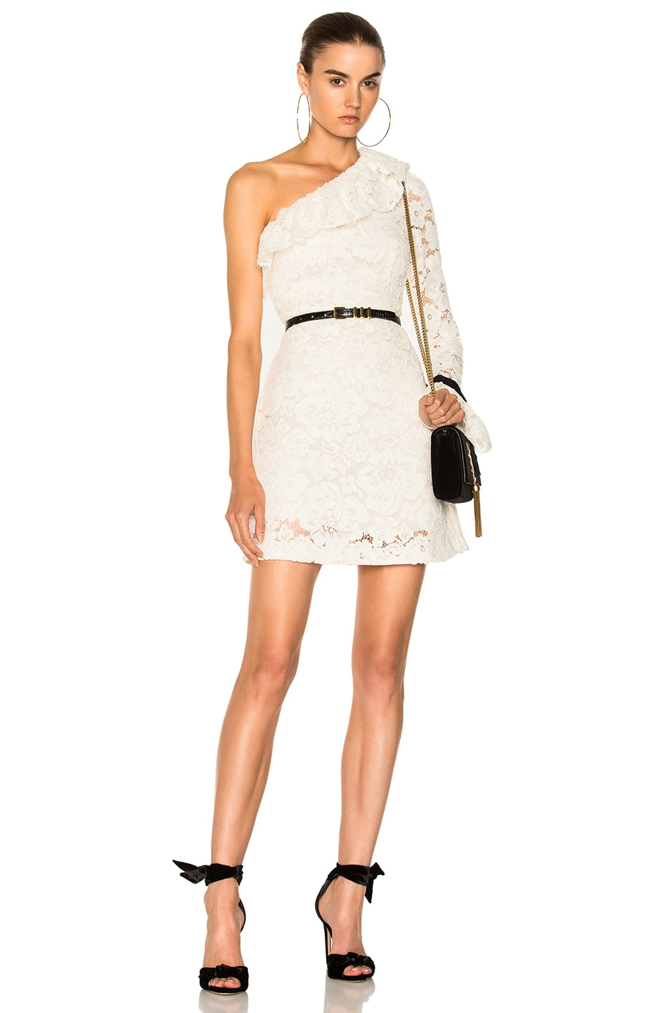 Cheapest Price Online Philosophy Di Lorenzo Serafini one-shoulder lace dress Prices Sale Online Shop Offer Online Outlet Free Shipping t9ZstBoV1