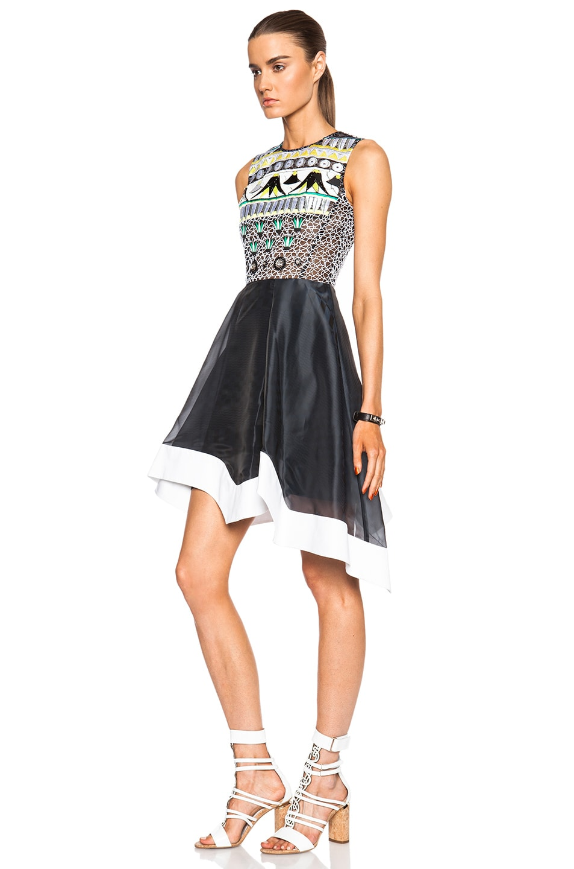 Image 2 of Peter Pilotto Tessera Dress in Navy