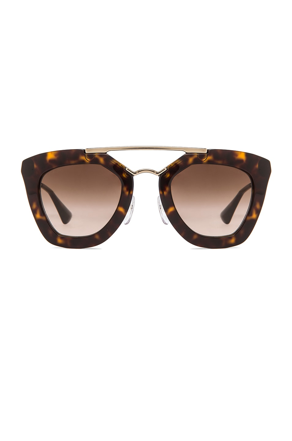 Image 1 of Prada Cat Eye Sunglasses in Havana