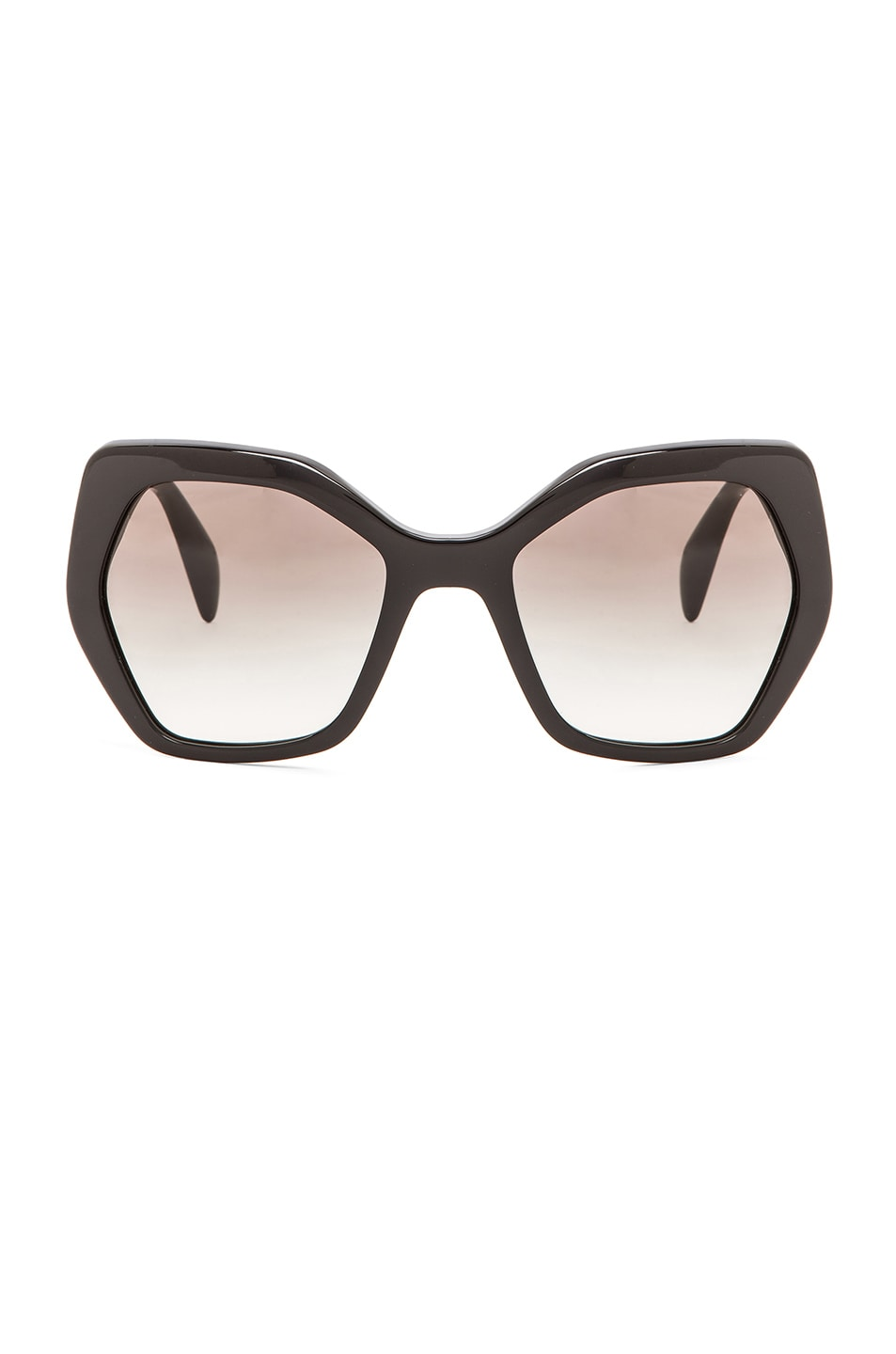 f72e00370930 Image 1 of Prada Heritage Sunglasses in Black