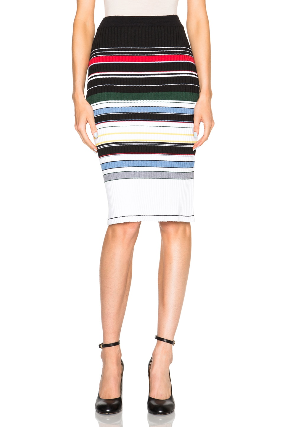 Image 1 of Preen Line Ockie Skirt in Multi Stripe