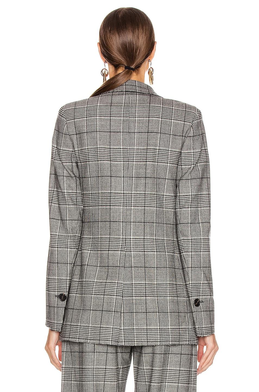 Image 5 of Proenza Schouler Plaid Blazer in Black & White