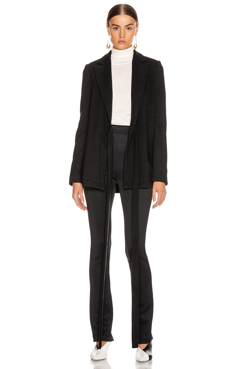 Image 2 of Proenza Schouler Wrap Jacket in Black