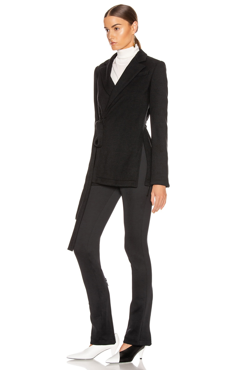 Image 4 of Proenza Schouler Wrap Jacket in Black