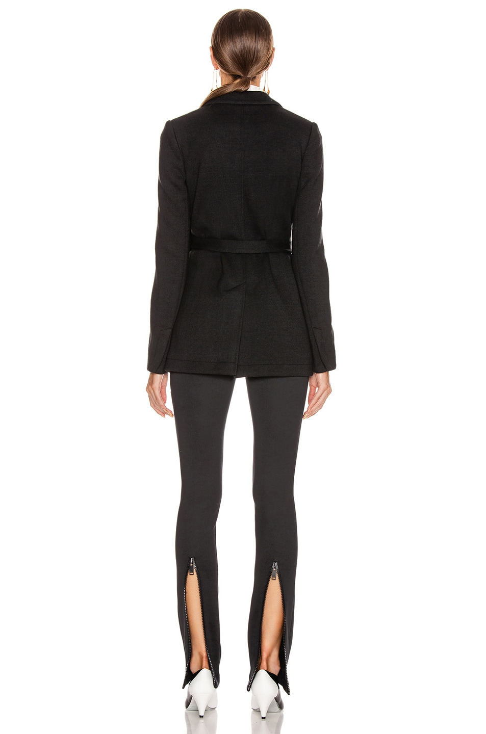 Image 5 of Proenza Schouler Wrap Jacket in Black