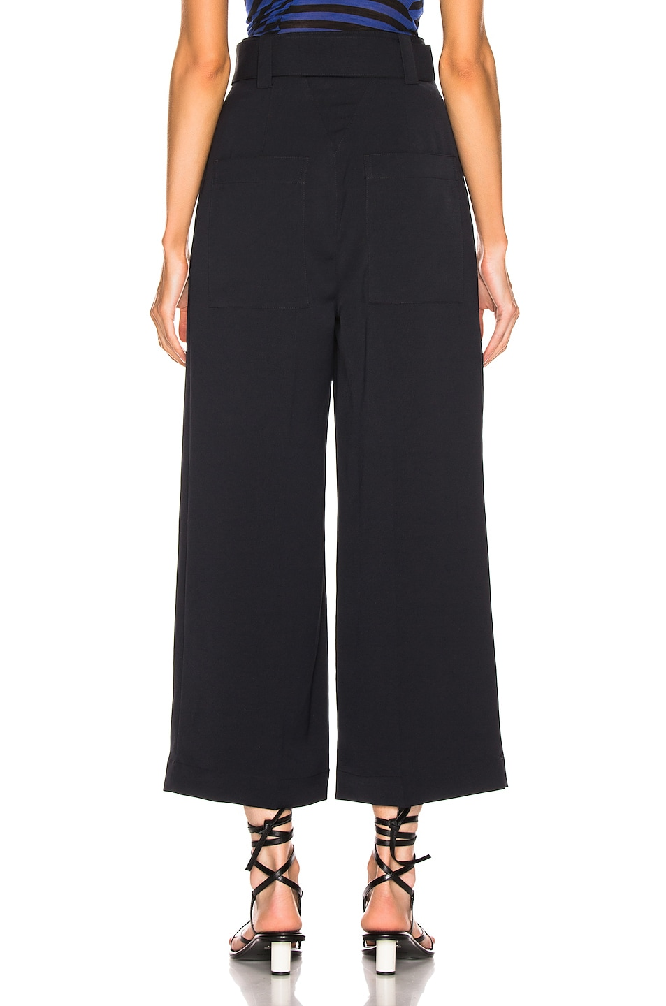 Image 3 of Proenza Schouler Belted Pant in Black