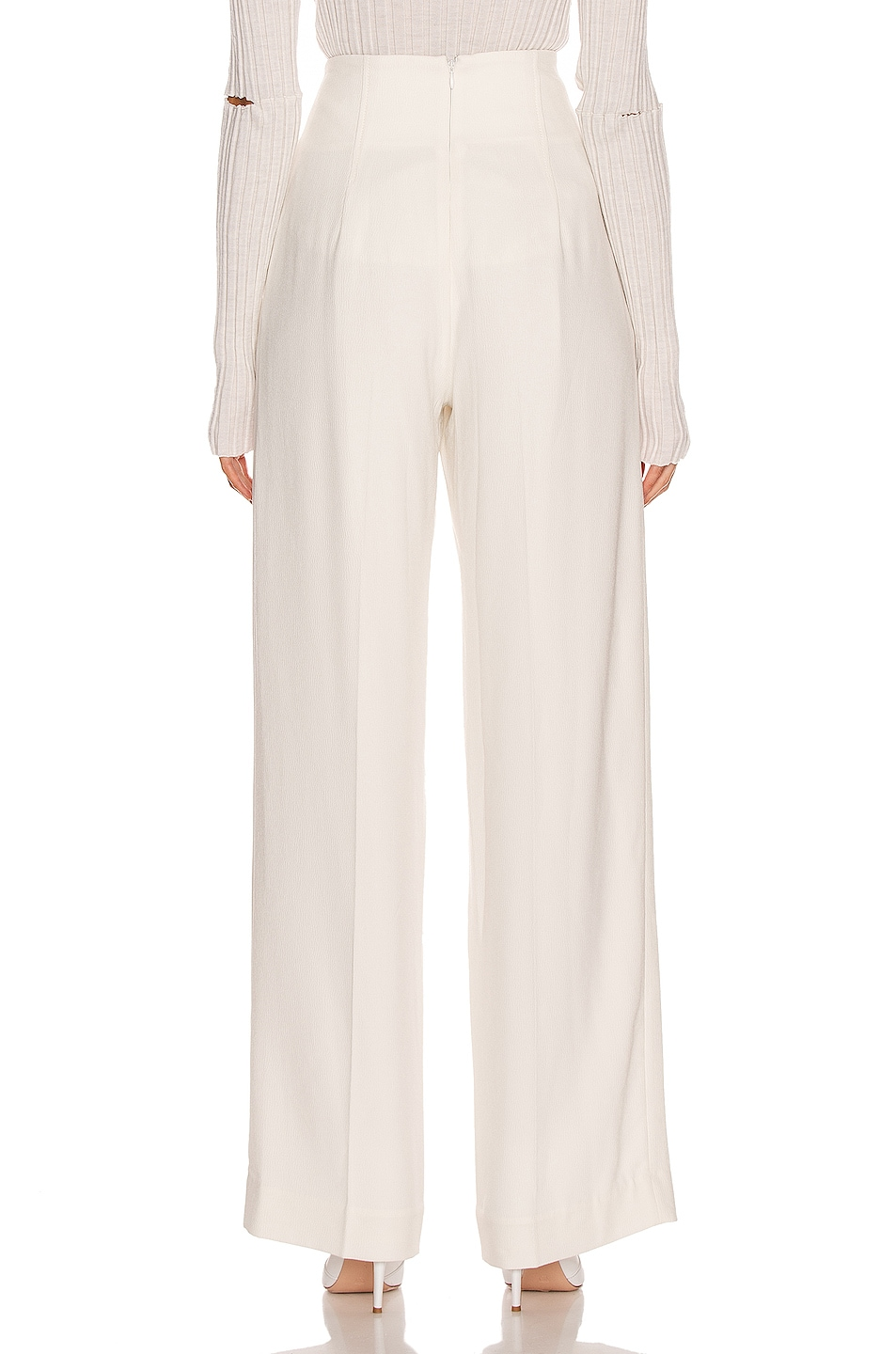 Image 3 of Proenza Schouler High Waisted Pant in White