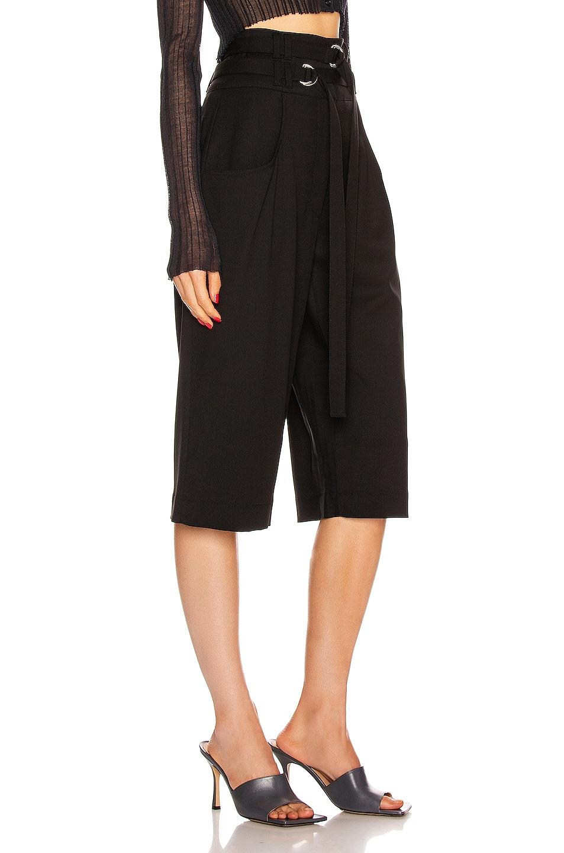 Image 2 of Proenza Schouler Wool Culotte Pant in Black