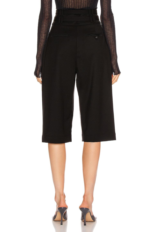 Image 3 of Proenza Schouler Wool Culotte Pant in Black