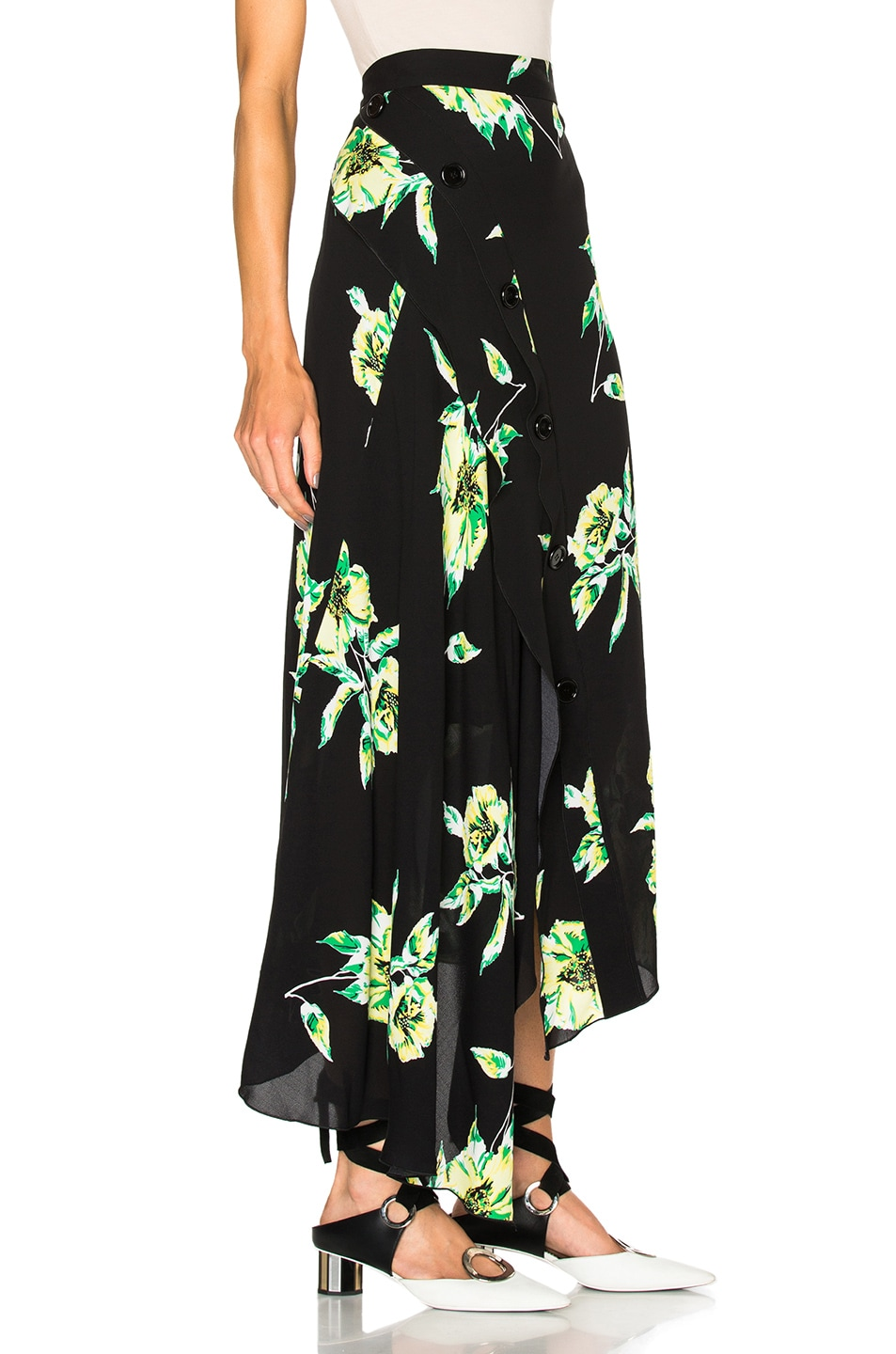 Quality Free Shipping Low Price Buy Cheap Clearance Store Proenza Schouler Printed Crepe Skirt Sale Extremely clApPt