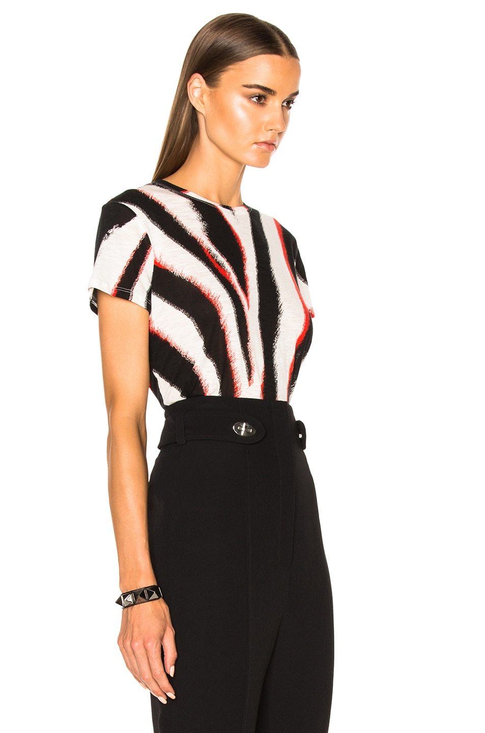 4d6d49f4f6 Image 3 of Proenza Schouler Printed Tissue Jersey Tee in White