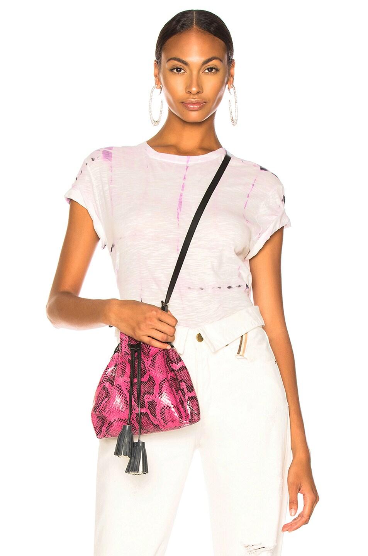 Image 1 of Proenza Schouler Tie Dye Shirt in Lavender & White