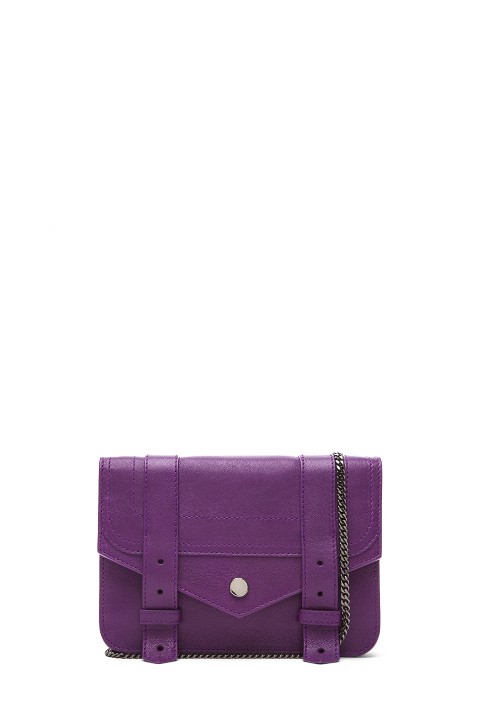Image 1 of Proenza Schouler Large PS1 Chain Wallet in Veruca Salt