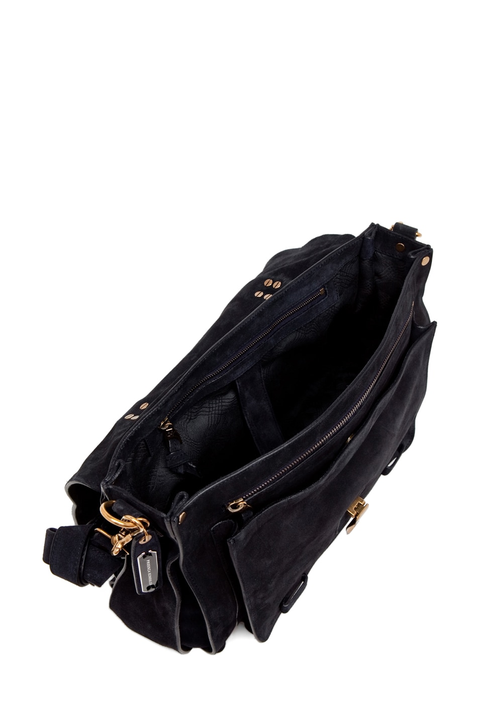 Image 4 of Proenza Schouler PS1 Large Suede  in Navy
